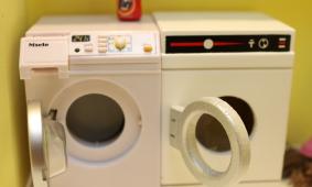 Mini Monday: Miele Miniature Washer and Dryer