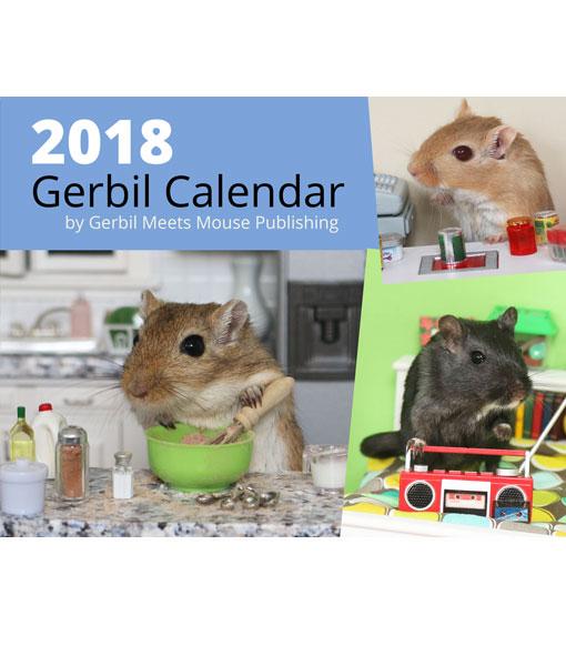 2018 Gerbil Calendar Cover